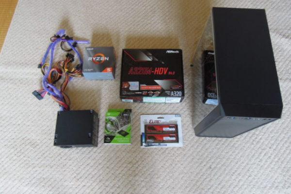 Ryzen5 3500+GeForceGTX1650 5万円台自作PC パーツ&スペック編